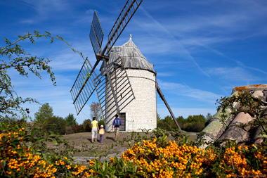 Sainte Alauzie - Moulin de Boisse