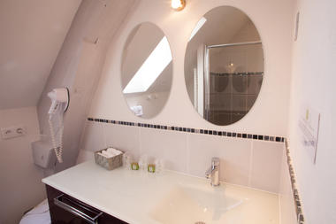 Auberge de Lile-creysse - Salle de bain