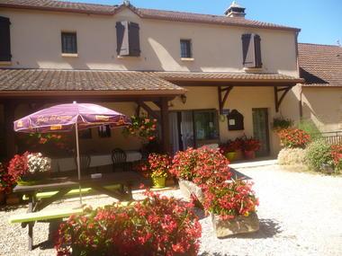 B&B Château Vieux - Terrasse 1
