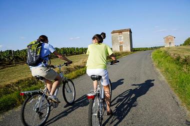 Cyclotourisme dans le Vignoble
