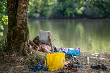 Baignade dans la Dordogne à Vayrac_10 © Lot Tourisme - C. ORY