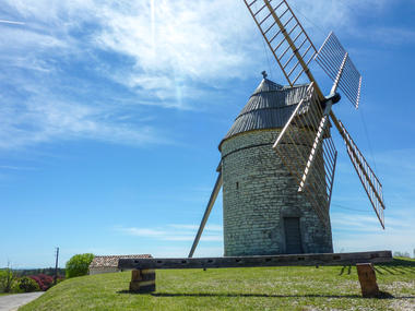 Boisse - moulin à vent © Lot Tourisme - C. Sanchez
