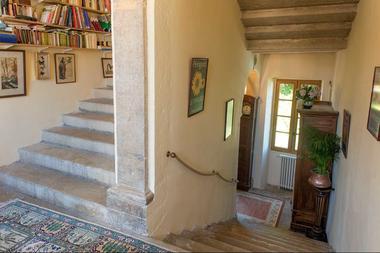 CAZALS - Domaine de Vielcastel - Escalier en pierre