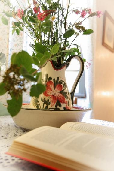chambre fleurie