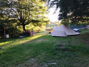 Camping Moulin de lacombe - Saint Geniez - emplacement 2