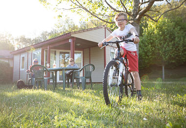 Camping Moulin du Bel Air - chalet