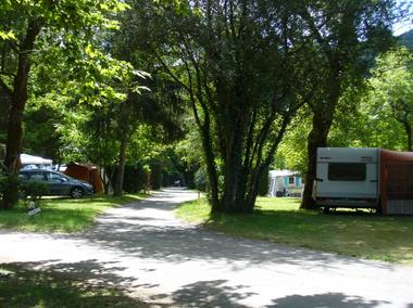 Camping-Le saulou-emplacements