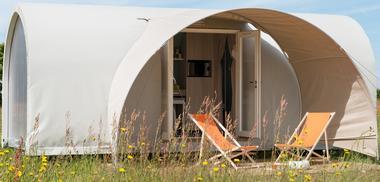 Camping Les Rives du Ceou Tente