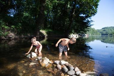 Camping eau Vive - Carennac - Baignade
