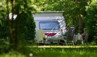 Camping eau Vive - Carennac - Camping car