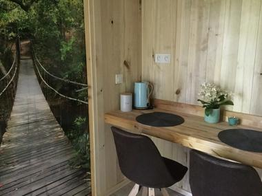 Cabane-Lodge - coin-repas