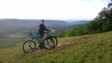 CaracoleNature_Panorama sur la vallée en VTT