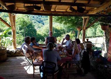 Chambre d'hôtes Espace champêtre-terrasse