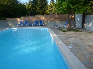 Chambre d'hôtes du Chastang-piscine