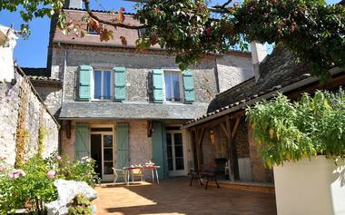 Chambres d'Hotes Le Heurtoir Rouge - Terrasse