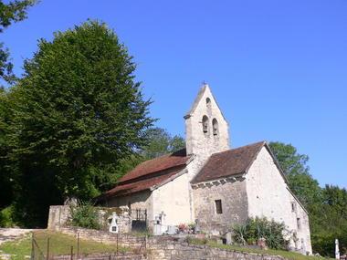 Lamothe Cassel : Eglise de Saint Avit