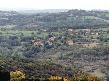Cuzac : Vue sur le Village