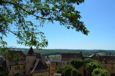 Cite Medievale de Gourdon - Vue sur la cite