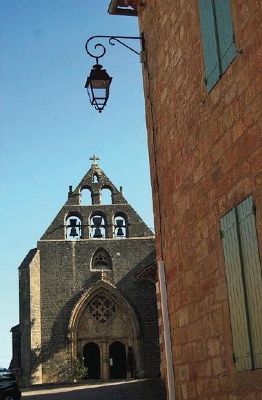 Montcabrier : L'église Saint-Louis