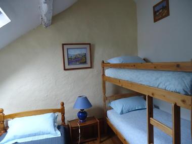 Marminiac Gîte Chêne Chambre 3 couchages