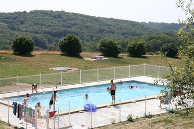 Domaine de Teuillères - Sousceyrac - piscine
