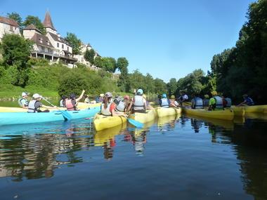 Dordogne Nature canoë 2
