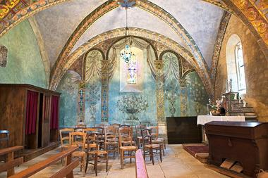 Eglise St Geaorge - St Cirq Madelon 9 - JM Caron