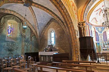 Eglise St Geaorge - St Cirq Madelon 11 - JM Caron