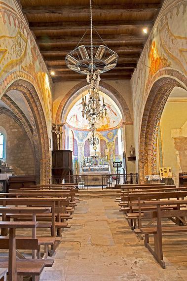 Eglise St Geaorge - St Cirq Madelon 2 - JM Caron