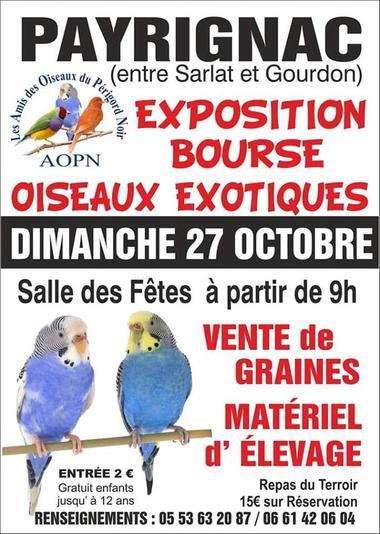 Exposition AOPN Payrignac 2019
