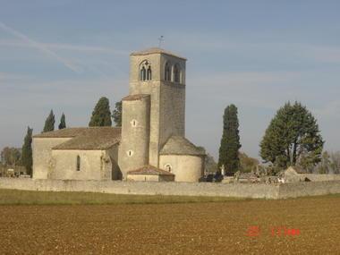 Mauroux : Eglise de Cabanac