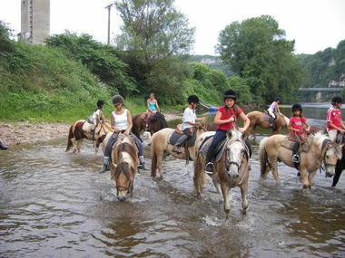 Ferme équestre cheval rando - Creysse