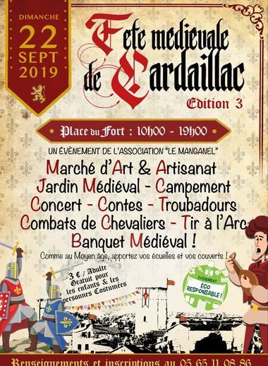 Fête médiévale Cardaillac