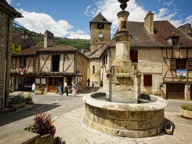 Fontaine d'Autoire