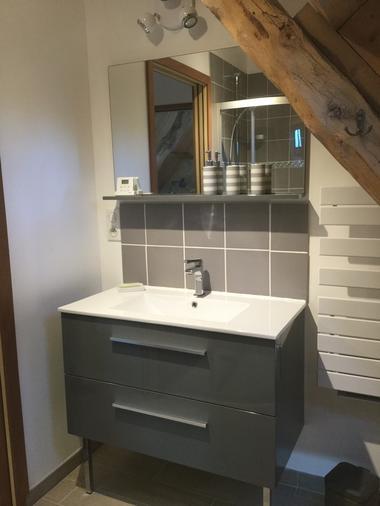 Forrestier Nathalie -Soucirac - salle de bain
