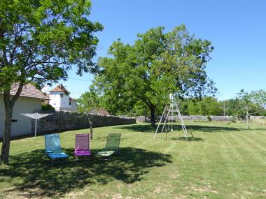 Gîte La Poulette - Rocamadour - jardin
