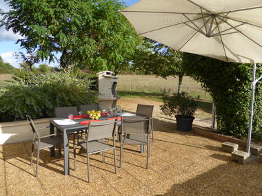 Gîte La Poulette - Rocamadour - terrasse