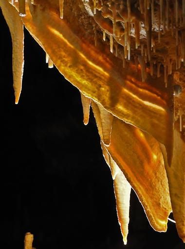 Grottes de cougnac - Gourdon - draperies