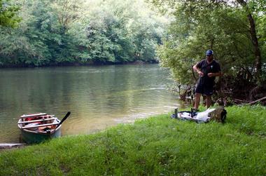 Guide de pêche Laurent Matéo - Vallée de la Dordogne -2