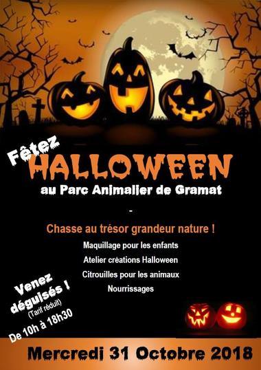 Halloween Parc Animalier Gramat