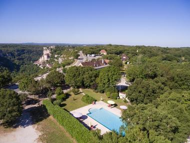 Hôtel Le Bellaroc-piscine