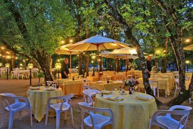 Hotel le Chateau-Rocamadour-Terrasse Restaurant