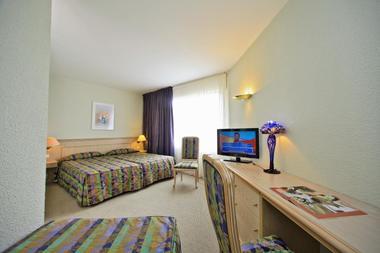 Hotel le Chateau-Rocamadour-chambre triple confort