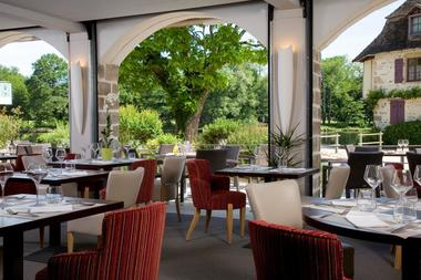 Hotel-restaurant-les-Flots-Bleu---Beaulieu-sur-Dordogne---restaurant