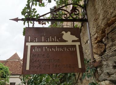 La table du producteur