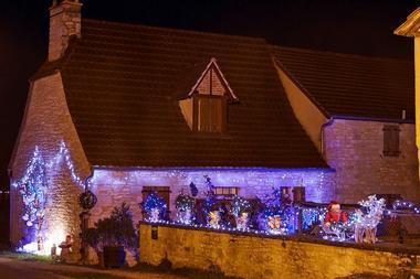 Illuminations de Noël à Lunegarde