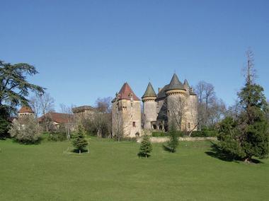 Montcléra : Château