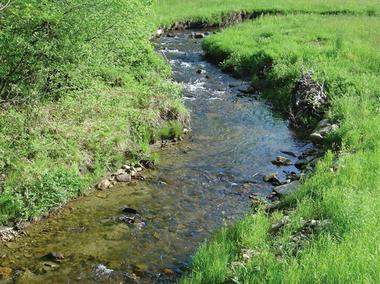 Sousceyrac : Ruisseau du Cayla