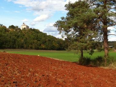 La Combe et le Château de Cieurac