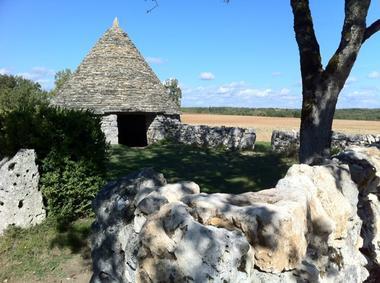 Causse de Lalbenque : La Caselle de Nouel